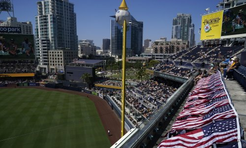 Police investigate after woman and son killed in fall at San Diego ballpark
