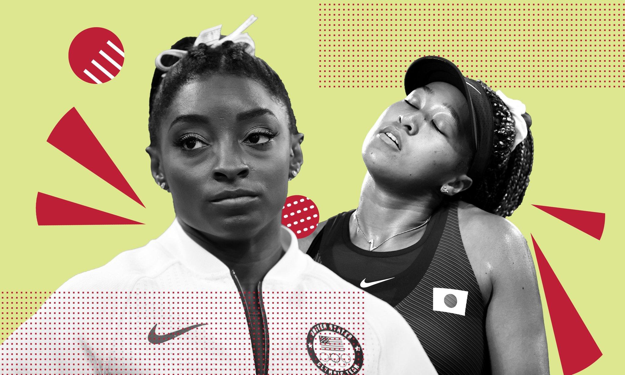 Simone Biles and Naomi Osaka highlight the untenable pressures of Big Sport