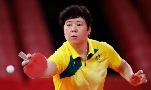 Jian Fang Lay becomes cult figure of Australian table tennis at sixth Olympics