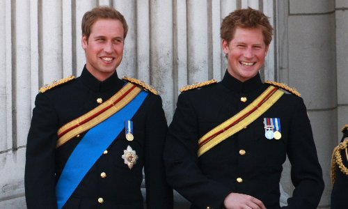 The drama over the princes' uniforms is just a royal version of EastEnders
