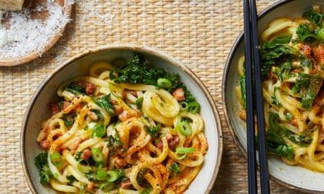 Udon carbonara and miso tarte tatin: Ravinder Bhogal's miso recipes