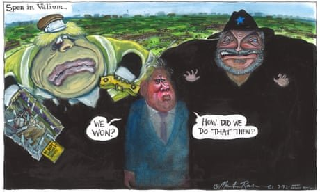 Martin Rowson on Labour's win in Batley and Spen — cartoon