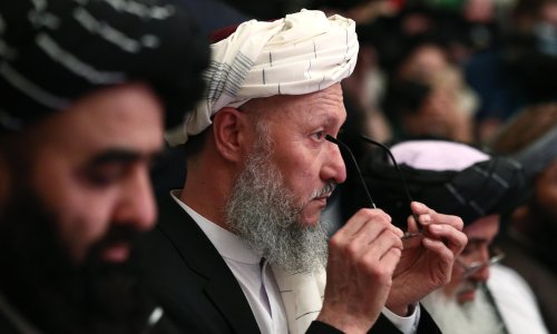 Russia holds high-profile Afghanistan talks with Taliban