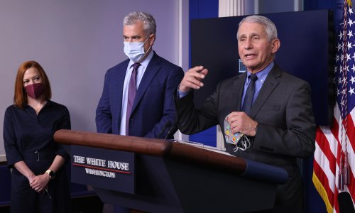 US 'turning the corner' on pandemic but pressure grows to help other nations