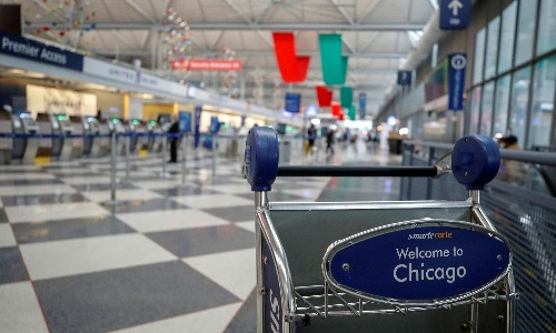 Man found living in Chicago airport for three months 'due to fear of Covid'