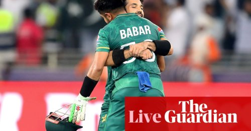 Pakistan thrash India by 10 wickets at T20 World Cup – as it happened