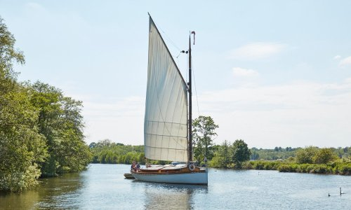 I took a sailing holiday – on one of Norfolk's historic wherries