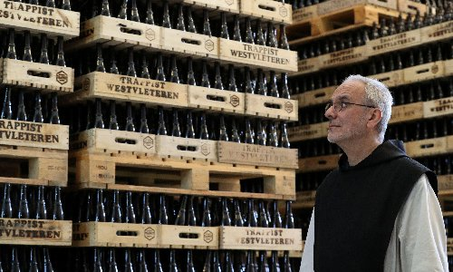 Trouble brews between Trappist monks and Belgian mineral empire