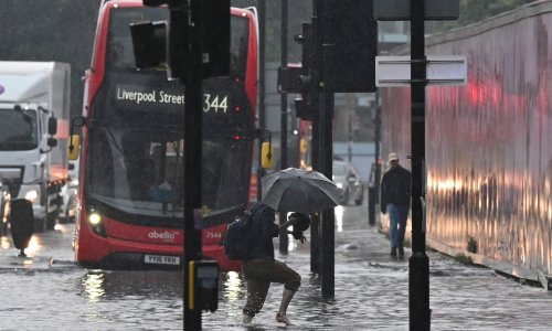 The floods show London is now on the frontline of the climate emergency