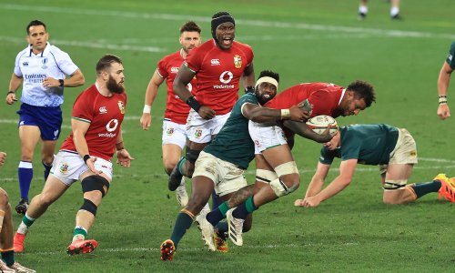 Siya Kolisi claims referee in first Lions Test showed lack of respect