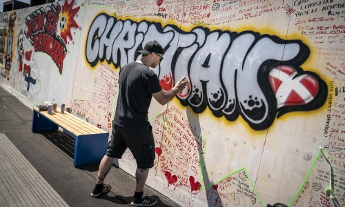 'Fine under the circumstances': Christian Eriksen sends message to fans