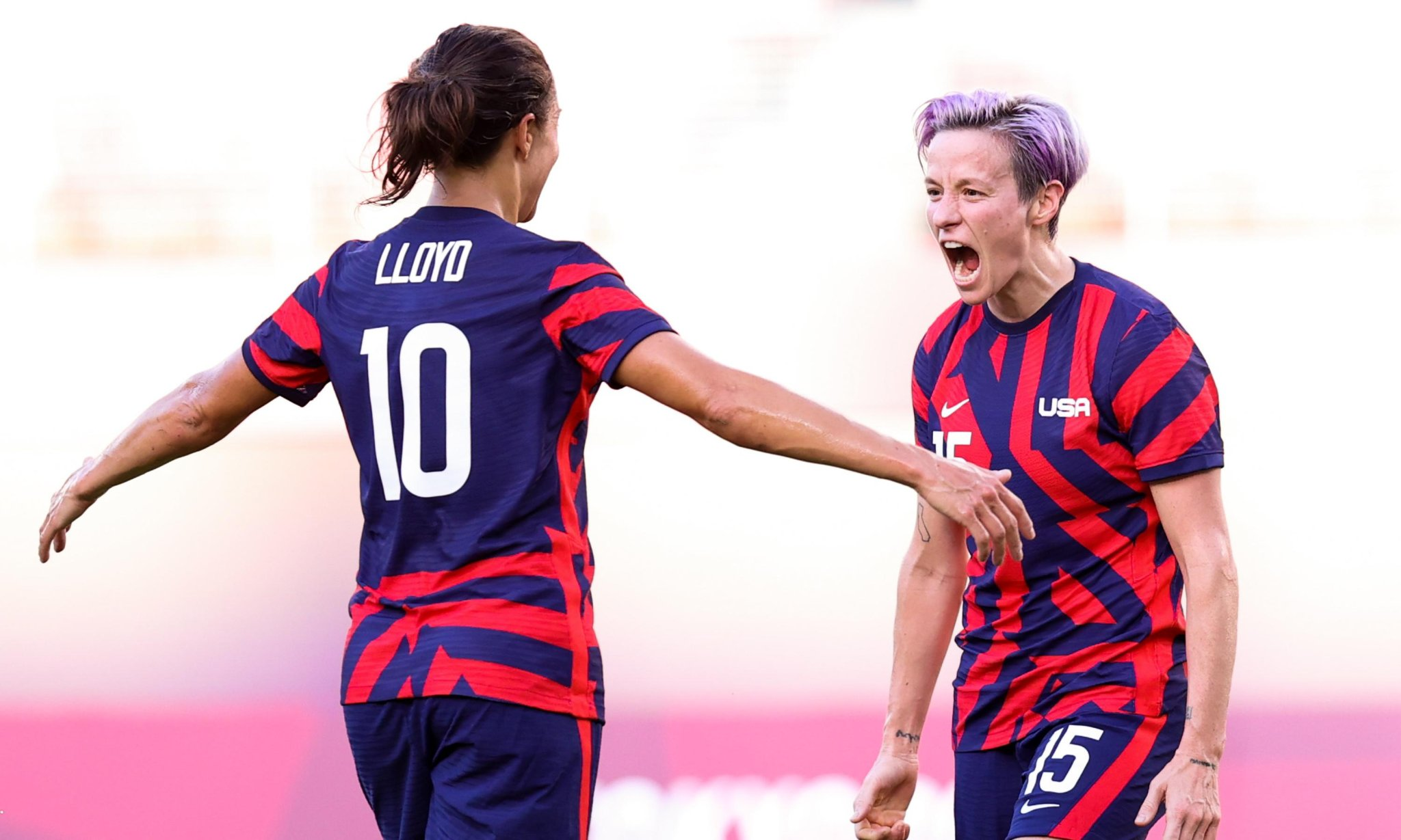 Rapinoe and Lloyd doubles grab bronze for USA in thriller against Australia