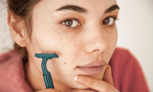 Female shaving: why women are removing their facial hair – from chin growth to peach fuzz