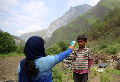 High in the Himalayas, villagers hit by Covid are left to fend for themselves