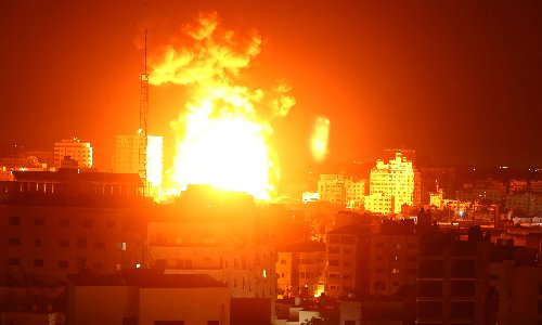 Gaza rocked by fresh airstrikes after Netanyahu vows to keep attacks at 'full force'