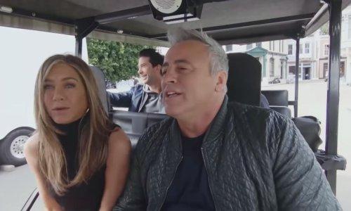 The Friends Carpool Karaoke is even more mortifying than the reunion