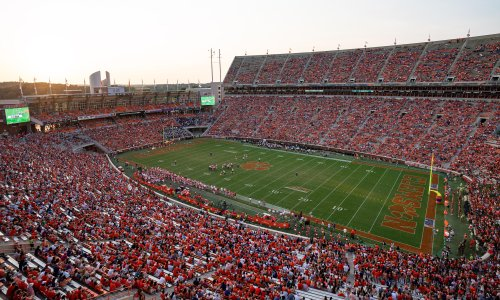 16,000 people, 81,000-seat stadium: what happens when college football dominates a town