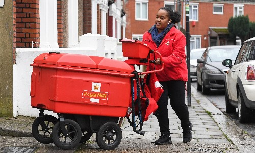 Weighty postbag of problems as Royal Mail reels from a Christmas hangover