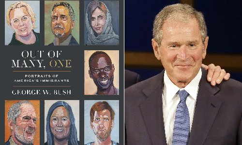George W Bush is back – but not all appreciate his new progressive image