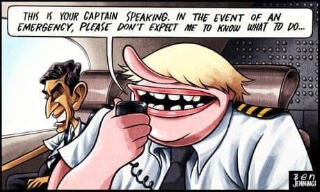 Ben Jennings on Boris Johnson's travel watchlist chaos – cartoon