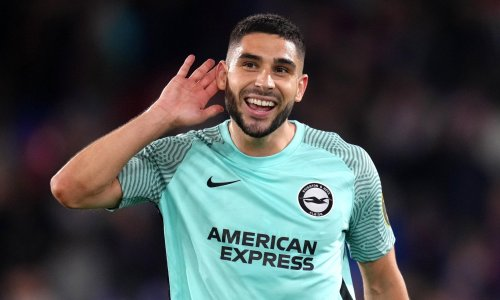 Brighton's Neal Maupay stuns Crystal Palace with stoppage-time equaliser