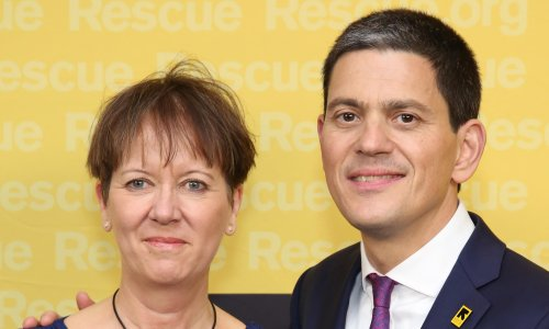 David Miliband's charity offers unpaid internships but he took home over £700,000