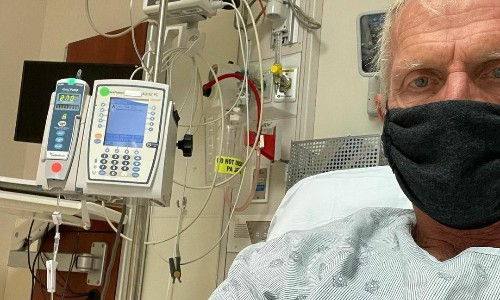 Greg Norman back in US hospital with 'hideous' Covid-19 symptoms