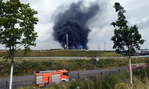 German chemical park explosion: one dead and four missing