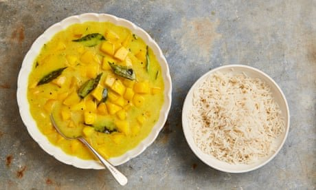 Meera Sodha's vegan recipe for mango and coconut yoghurt curry