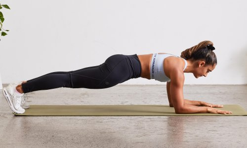 Move of the week: how to do the plank, and ease lower back pain