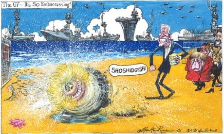 Martin Rowson on world leaders at G7 – cartoon