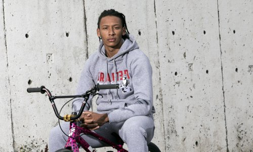 BMX racer Kye Whyte: 'Beth was too tired to celebrate, so I had to pick her up'