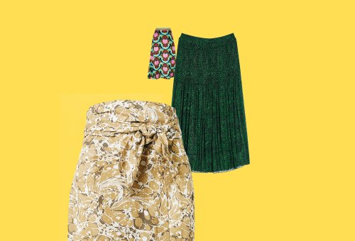 A shopping guide to the best … printed skirts
