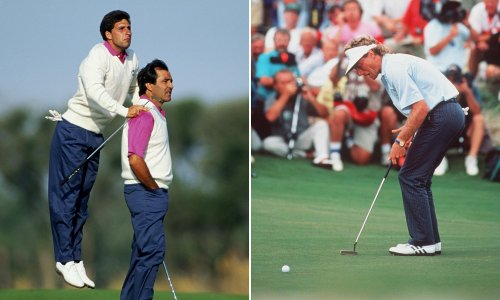 When one Bernhard Langer putt decided the Ryder Cup 30 years ago