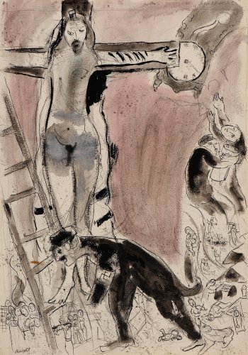 The Great British Art Tour: Chagall leaves his dreams for a living nightmare