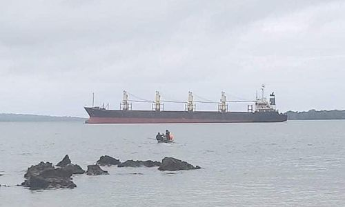 Solomon Islands: ship crew accused of dumping 1,000 tonnes of oil in sea