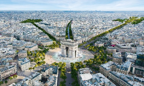 Paris agrees to turn Champs-Élysées into 'extraordinary garden'
