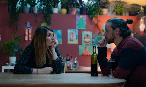 Together review – Sharon Horgan and James McAvoy let rip in lockdown tour de force