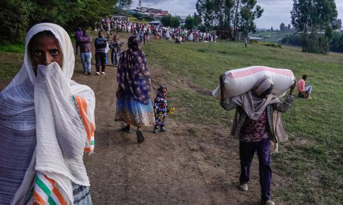 UK announces extra £29m of humanitarian aid for Ethiopia