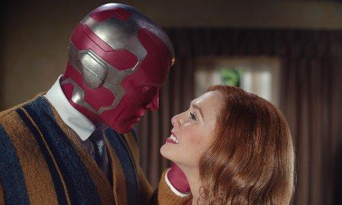 'Weird is good': Paul Bettany and Elizabeth Olsen on superhero sitcom WandaVision