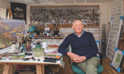 'Excessive tourism can destroy a place': artist Tony Foster on the rush to the countryside