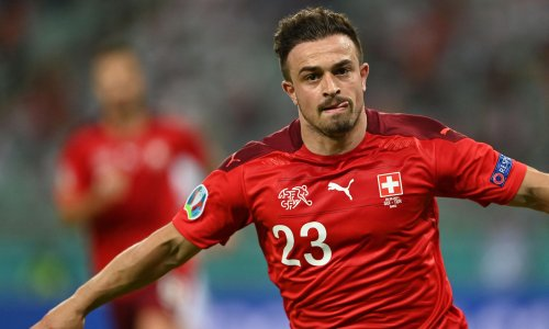 Switzerland on course for last 16 after Shaqiri double sends Turkey home