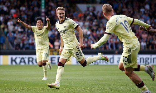 Ødegaard's brilliance seals win for resurgent Arsenal against Burnley