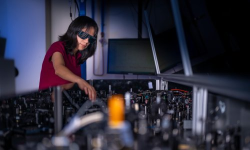 Ultra-thin film could one day turn regular glasses into night vision goggles, researchers say