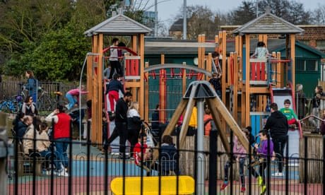UK children not allowed to play outside until two years older than parents' generation