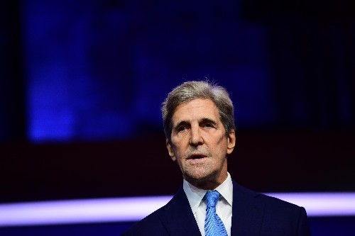 John Kerry commits US to climate crisis fight but warns world is way off pace