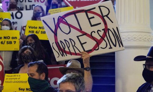 Texas house approves bill restricting voting rights after deal with Democrats