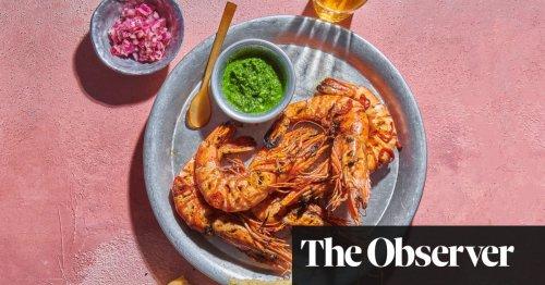 Chapli kabab, prawn 'nacos', ghormeh sabzi – British-Afghan barbecue recipes