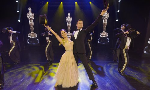Aljaž & Janette: Remembering the Oscars review – Strictly stardust at the movies