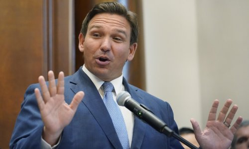Backlash after Florida governor signs bill against 'indoctrination' at colleges